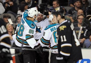 Sharks complete Texas Two Step, STOMP Stars Again 5-2